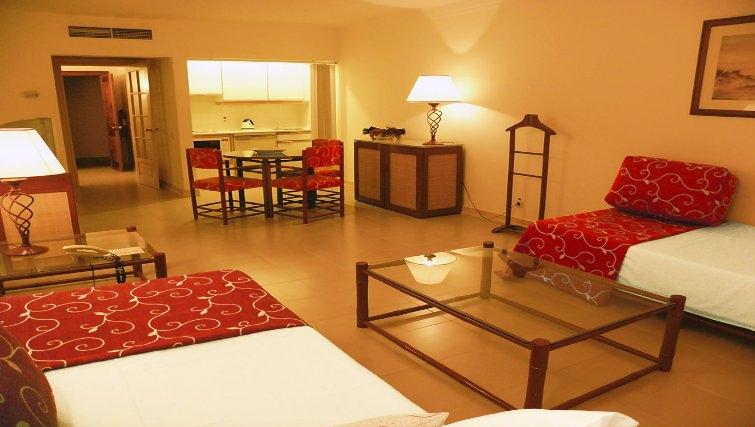 Multifunctional living area in Estoril Apartments