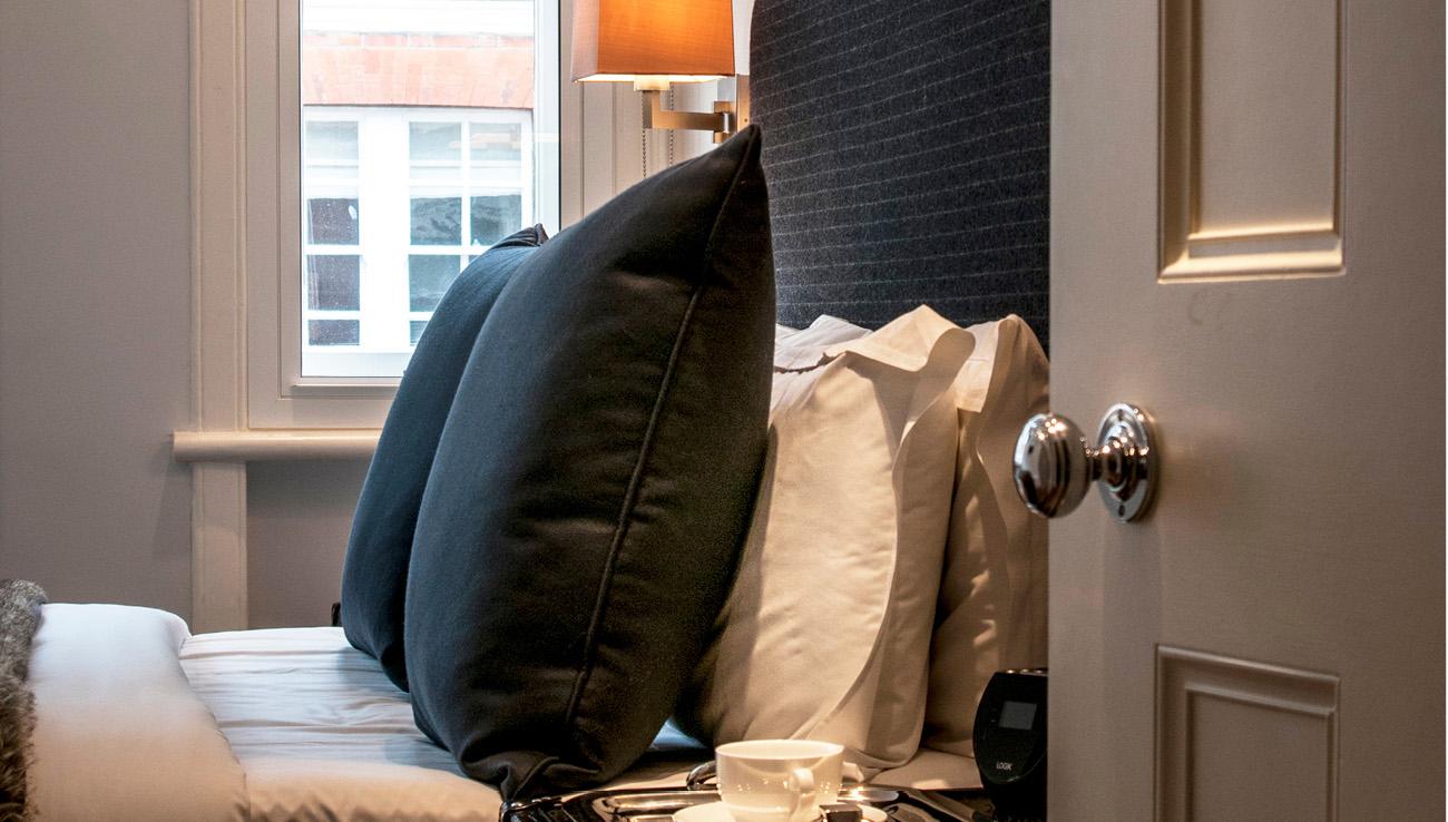 Pillow at Native Mayfair Apartments