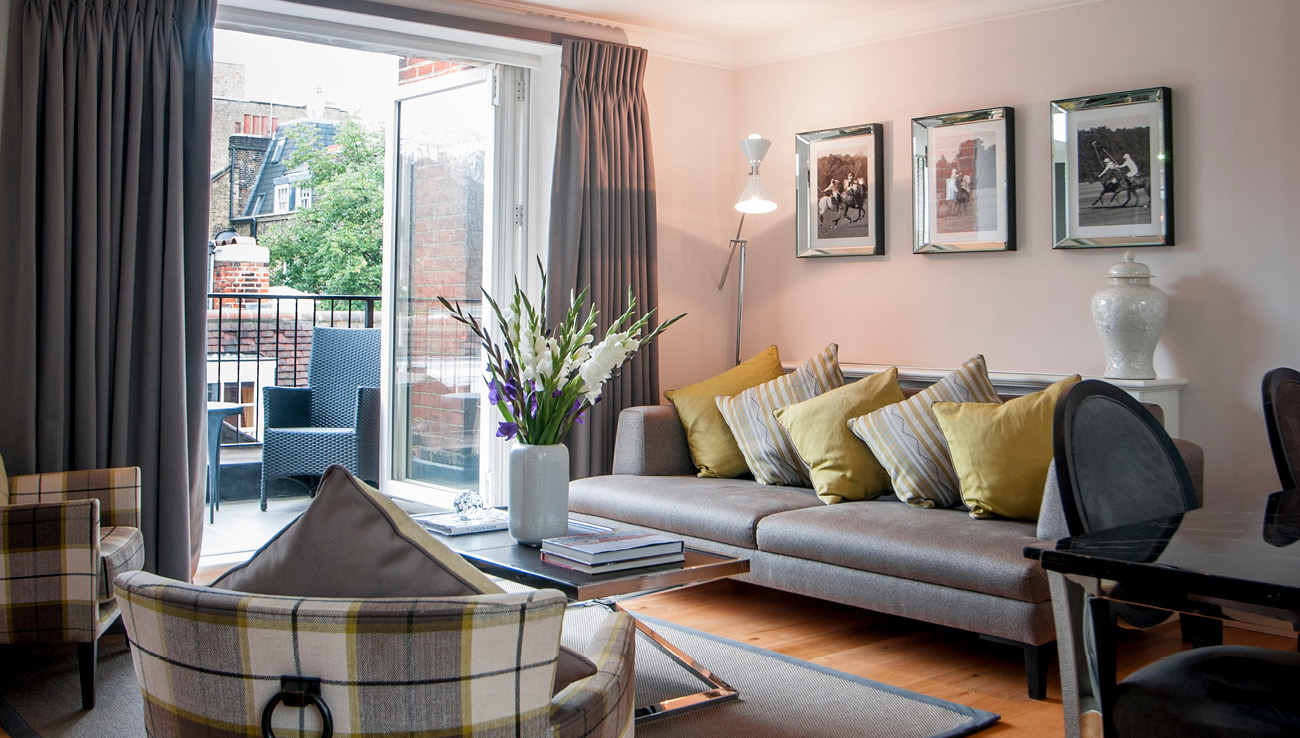 Lounge at Native Mayfair Apartments