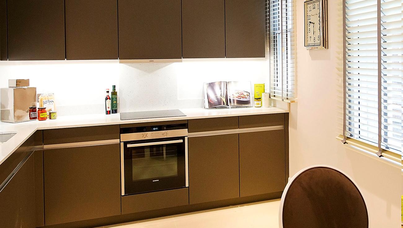 Kitchen at Native Mayfair Apartments