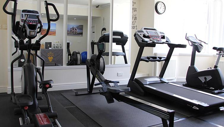 Gym at The Town House Apartments