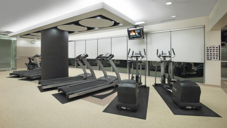Gym in 360 At City Centre Apartments