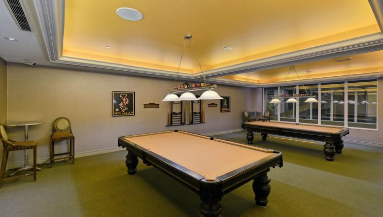 Billiards room at Forest Vista Apartments