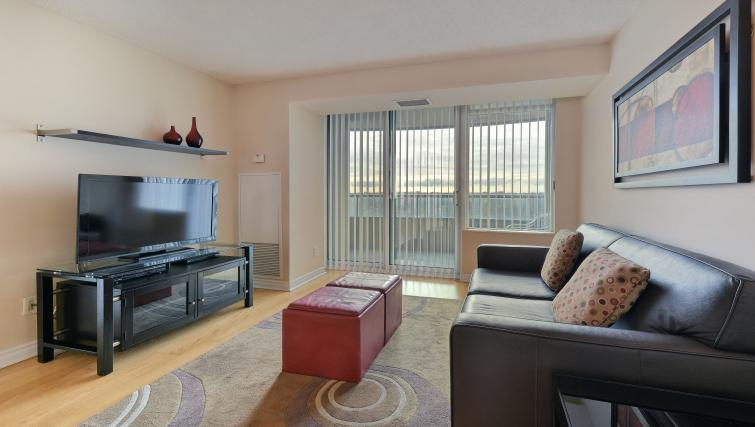 Living area at Forest Vista Apartments