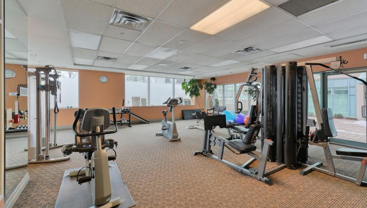 Fitness centre at Forest Vista Apartments