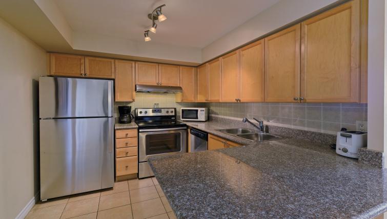 Kitchen at Forest Vista Apartments