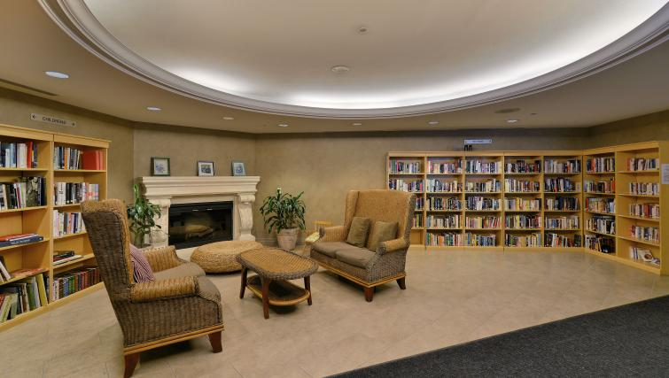 Library at Forest Vista Apartments