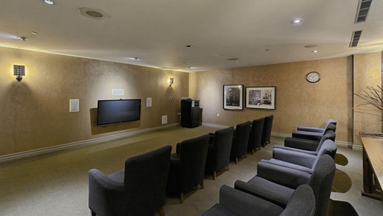 Theatre room at Forest Vista Apartments