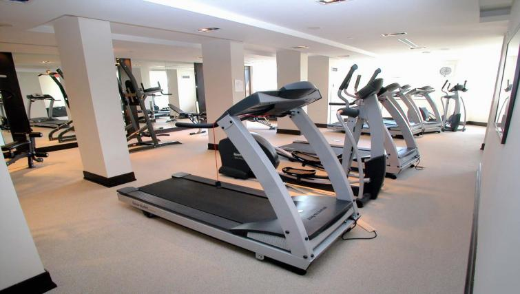 Gym at Circa Apartments
