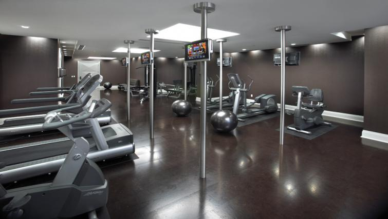 Gym at Meridian Apartments