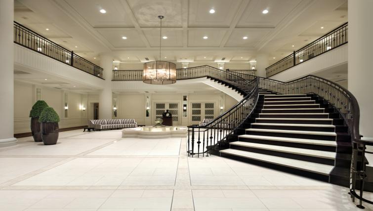 Lobby at Meridian Apartments