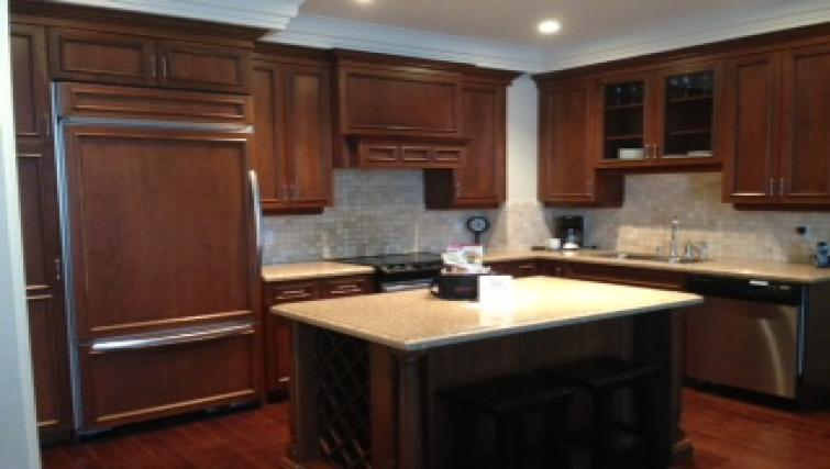 Kitchen at Meridian Apartments