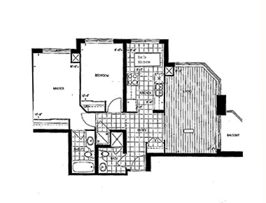 Floorplan 2 at Avondale Apartments