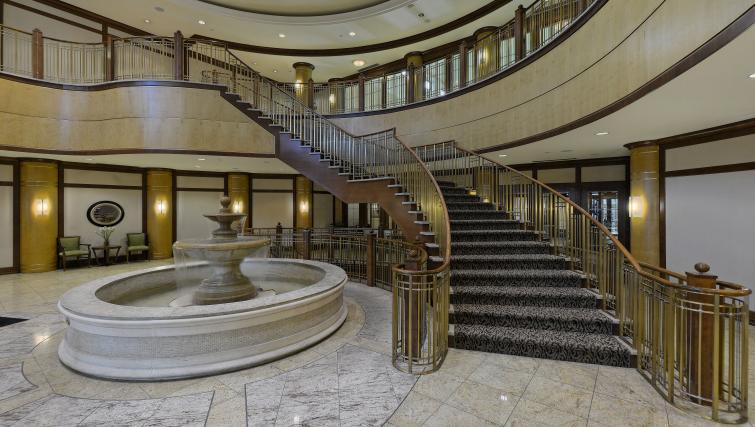 Hallway at Avondale Apartments