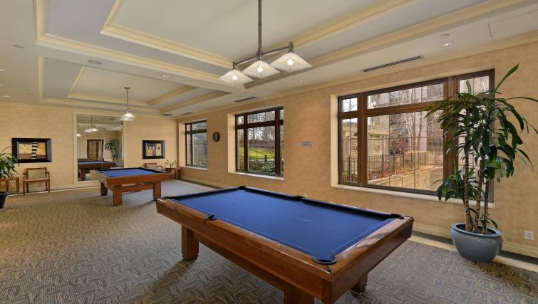 Pool table at Avondale Apartments