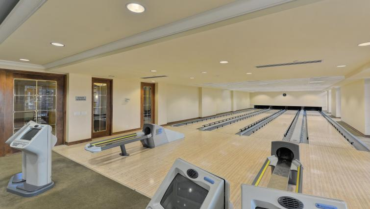 Bowling alley at Avondale Apartments