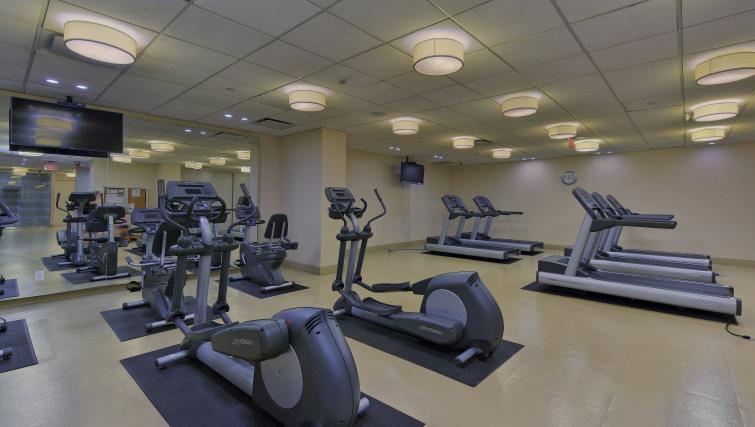 Gym at Republic Apartments