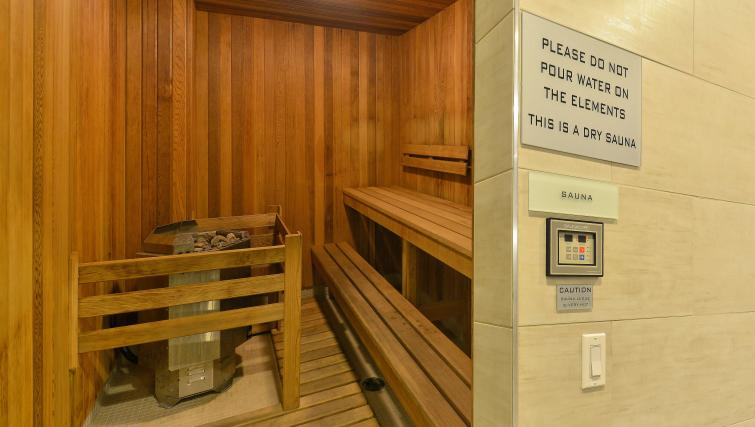 Sauna at Republic Apartments