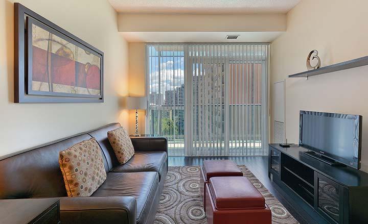 Lounge at Republic Apartments