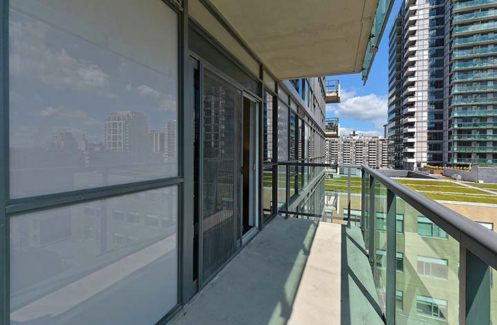 Balcony at Republic Apartments