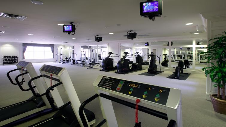 Gym at Skymark West Apartments