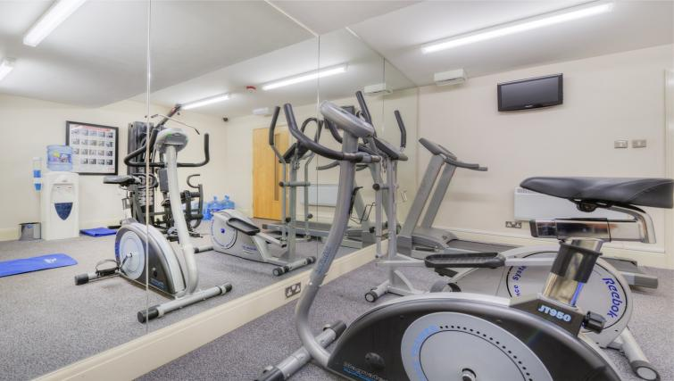 Gym at Holyrood Aparthotel