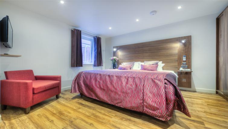 Bedroom at Holyrood Aparthotel