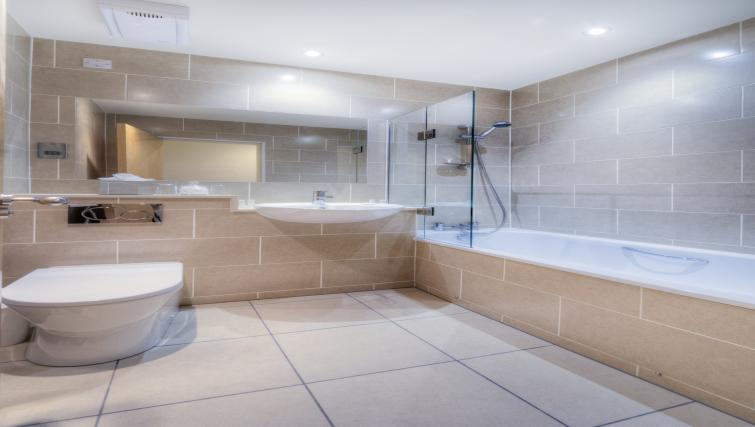 Bathroom at Holyrood Aparthotel