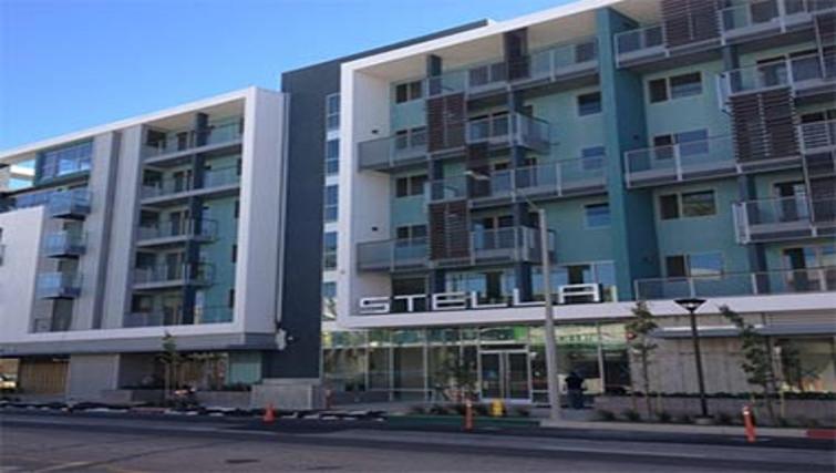 Grand exterior of Stella Apartments