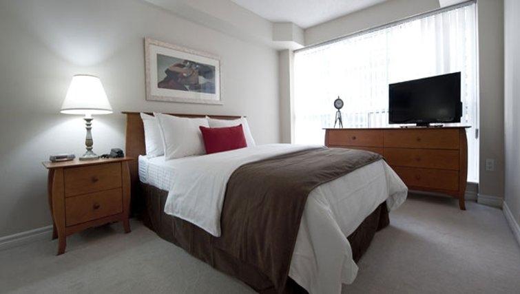 Delightful bedroom in Icon Apartments