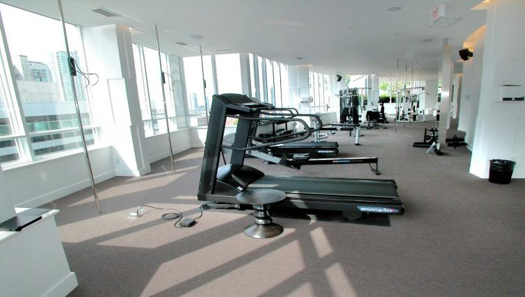 Gym in Icon Apartments