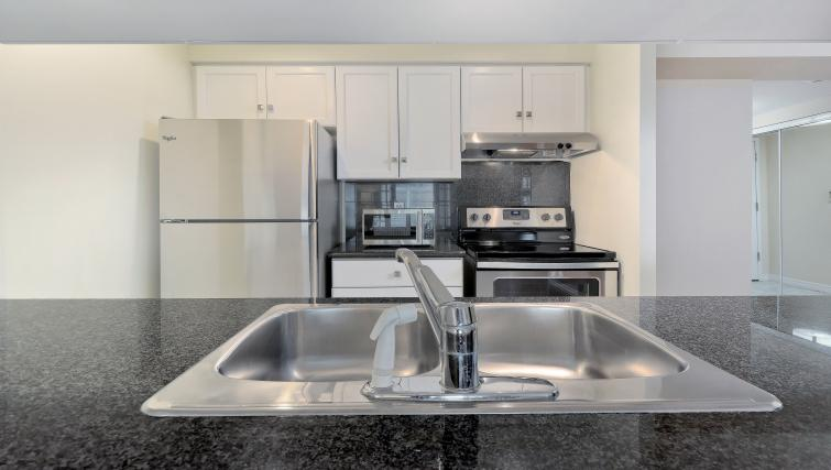Sink at Qwest Apartments