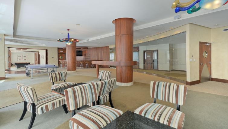 Party roomat Qwest Apartments