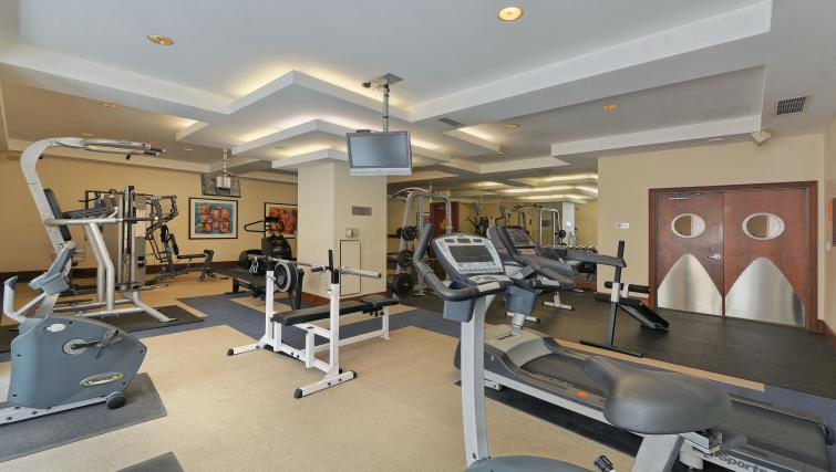 Gym at Qwest Apartments