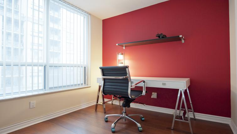 Desk at Qwest Apartments