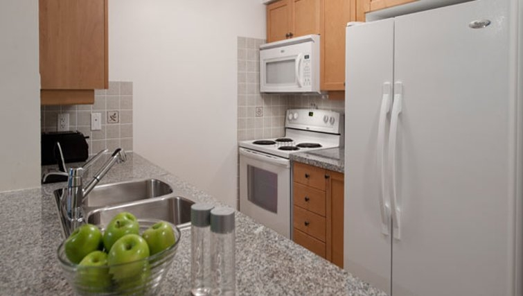 Ideal kitchen in Nuvo Etobicoke Apartments
