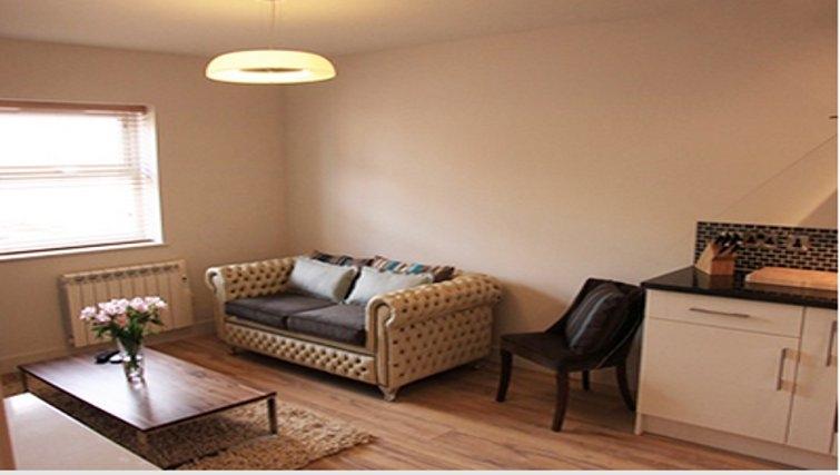 Charming living area in Bridge Apartments
