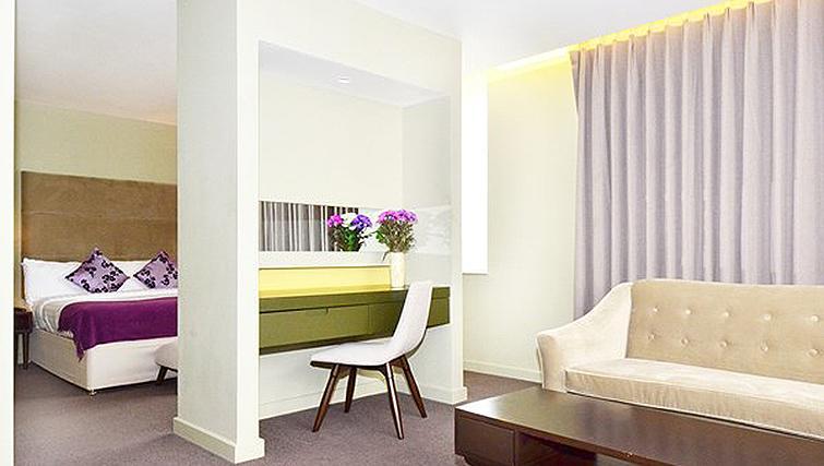 Delightful living area in So Battersea Apartments