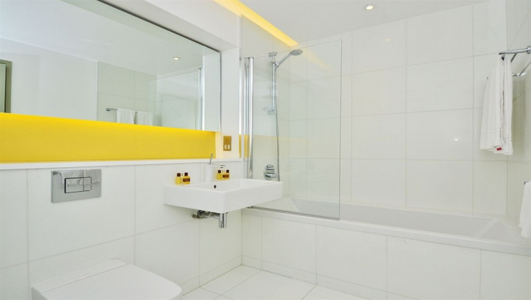 Gorgeous bathroom in So Battersea Apartments