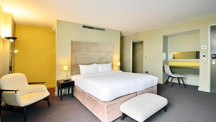 Bedroom at So Battersea Apartments