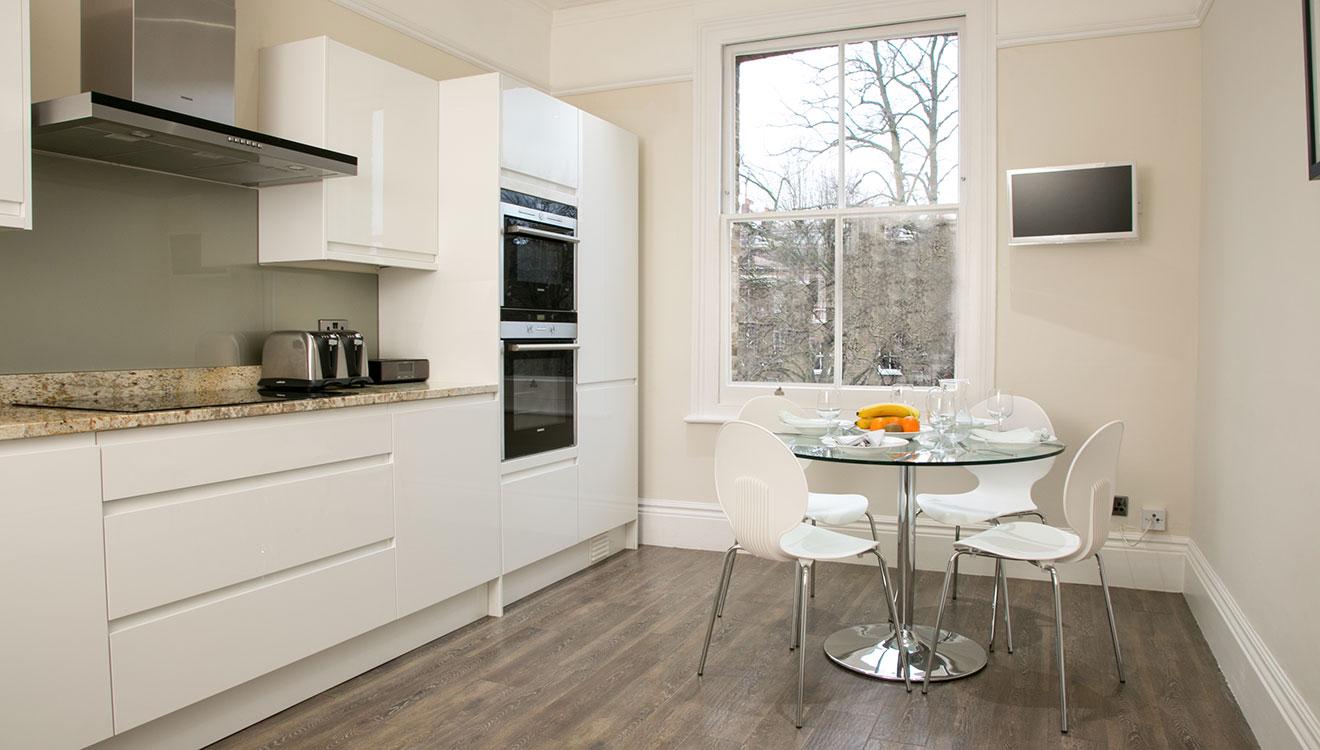 Kitchen at 20 The Barons Apartments