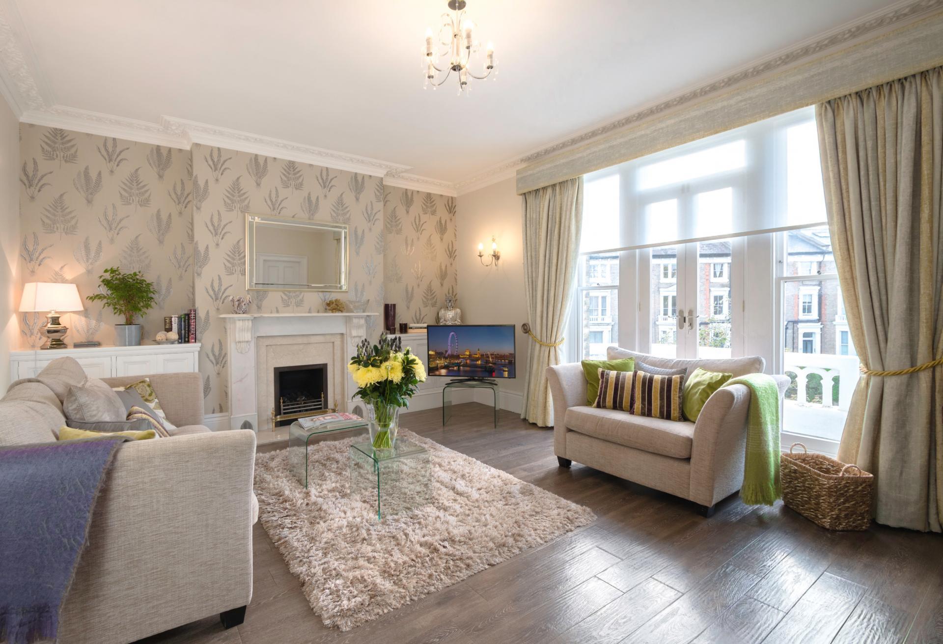 Lounge at 20 The Barons Apartments