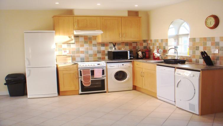 Equipped kitchen in Lime Kiln Apartment