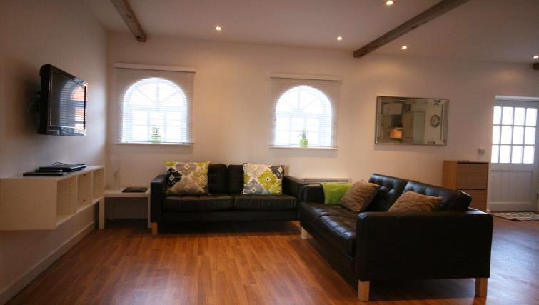 Living space at Ridgeway Apartment
