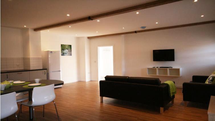 Living room at Ridgeway Apartment