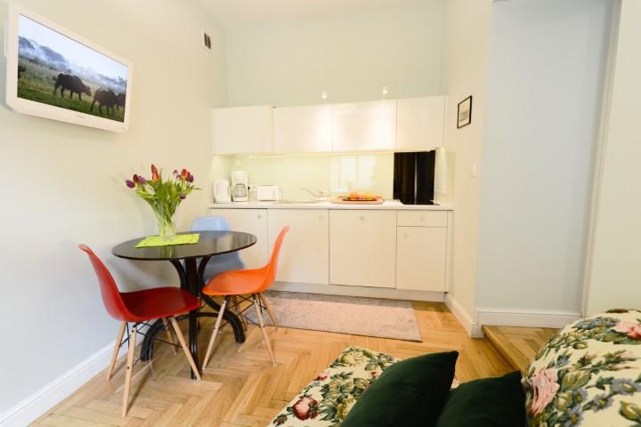 Kitchen at Rosa and Manka Apartments