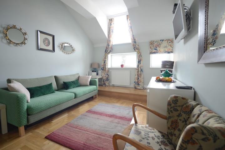 Living room at Rosa and Manka Apartments