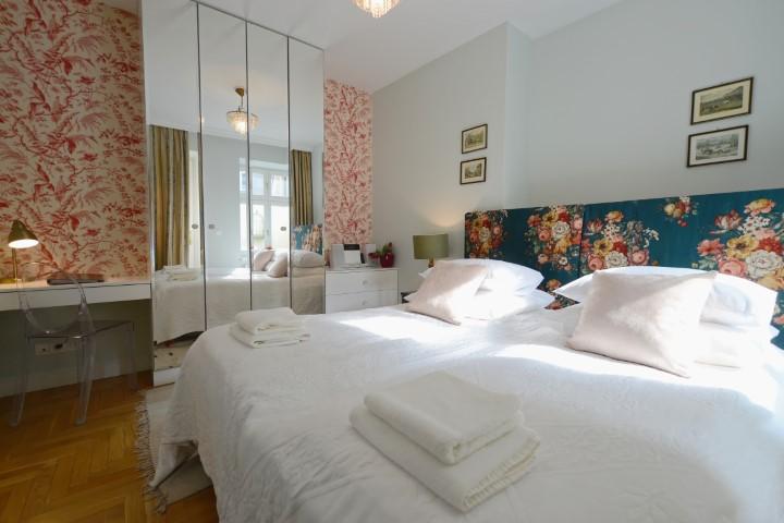 Bedroom at Rosa and Manka Apartments