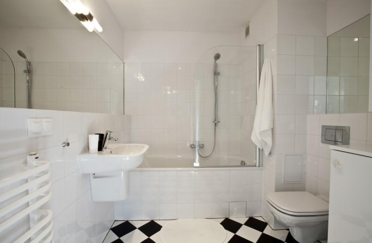 Bathroom at Rosa and Manka Apartments