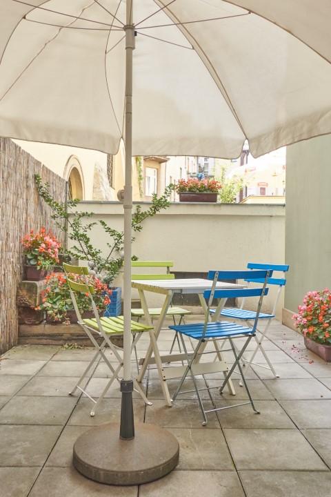 Terrace at Rosa and Manka Apartments
